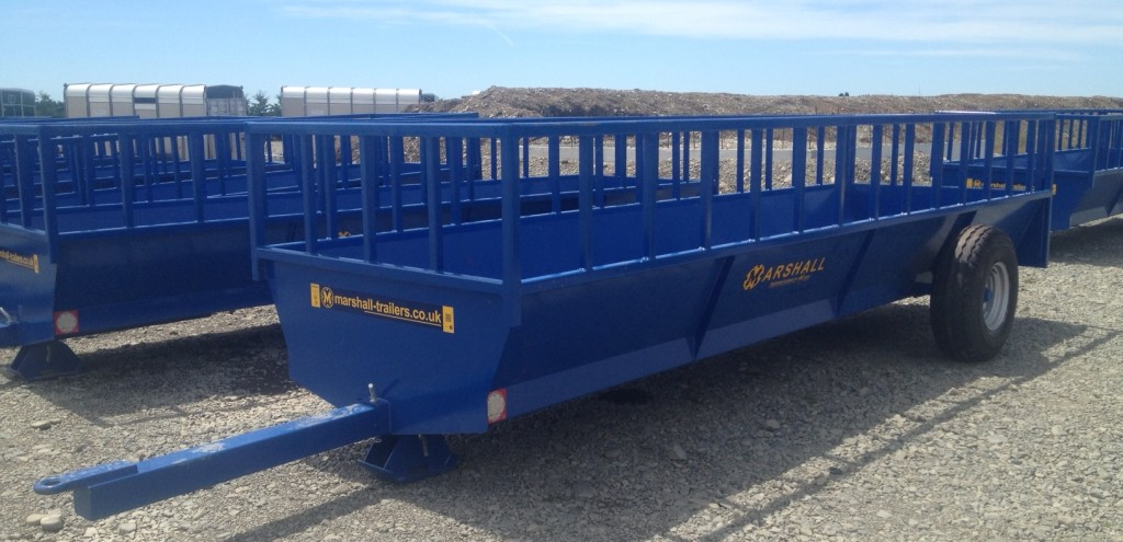 Blue Feeder Trailer Crop